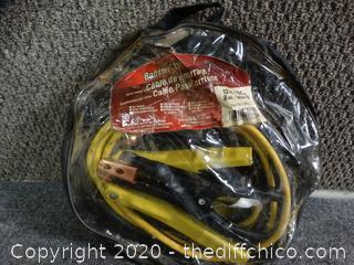 12FT Long Jumper Cables