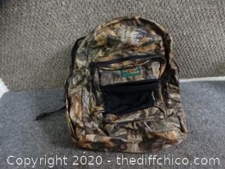 Advantage Timber Camo Back pack