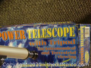 50 Power Telescope