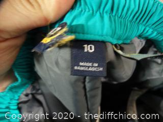 Ski Pants Size 10
