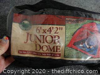 6'x4'x2 Junior Dome Tent