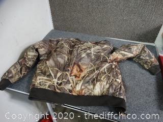 Hunting Jacket unknown Size Maybe Large Or Med
