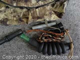 Camo Fanny Pack With Duck Calls