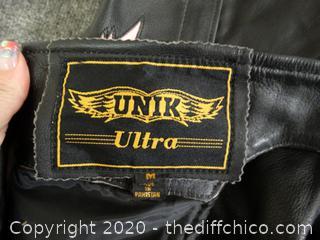 UNIK Ultra Leather Chaps Size med