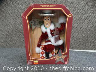Toy Story Woody Christmas Doll