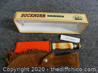 Buckhorn Skinner Knife