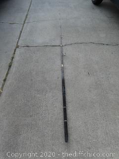 Gray Berkeley Fishing Pole