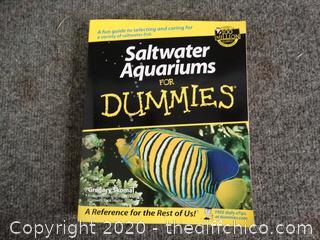 Salt Water  Aquariums For Dummies