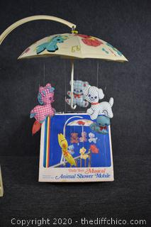 Musical Animal Shower Mobile