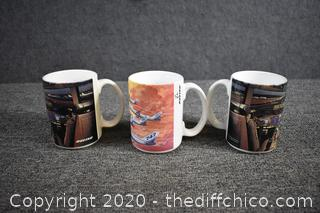3 Coffee Mugs