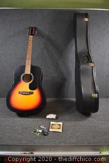 Lauren Guitar with case
