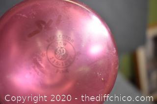 Working Pink Light