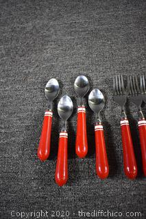 12 Pieces of Flatware