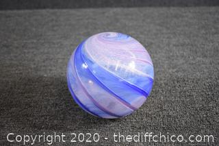 Hand Blown Glass Ball