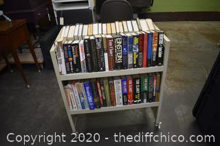 Books-this side only-cart not included
