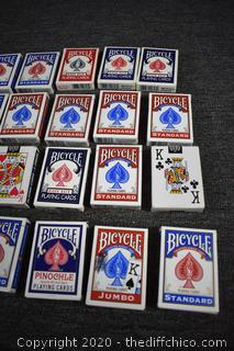 20 Decks of Playing Cards