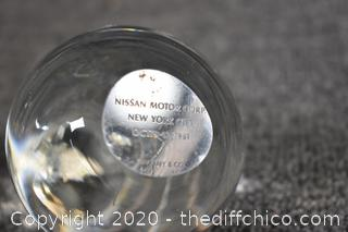 Tiffany Paperweight