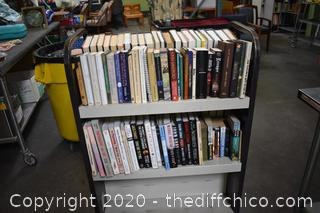 Books - this side only - cart not included