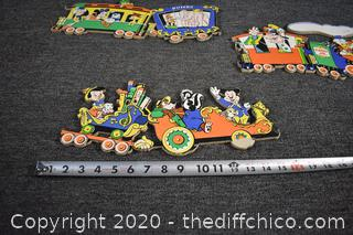 Vintage Walt Disney Wall Plaques