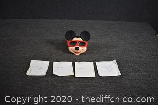Mickey Mouse View Master plus Reels