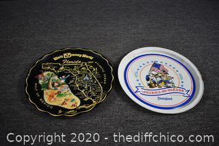 2 Disney Trays
