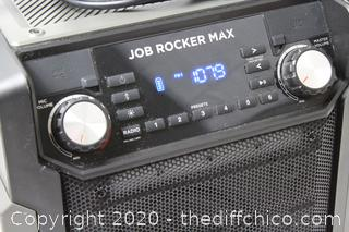 Ion Audio Job Rocker Max Bluetooth Speaker