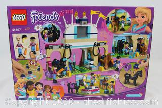 NEW SEALED LEGO Friends Stephanie's Horse Jumping Building Toy 41367