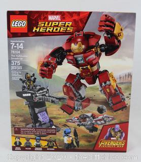 NEW SEALED LEGO Marvel Super Heroes Avengers: Infinity War The Hulkbuster Smash-Up 76104