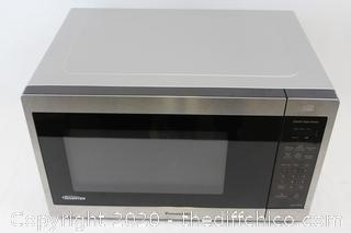 Panasonic 1.3CuFt Stainless Steel Countertop Microwave Oven NN-SC668S F/S
