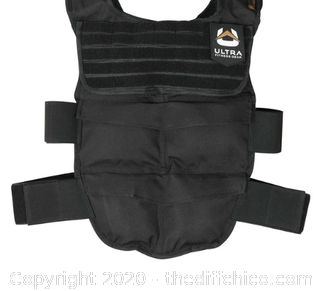 Ultra Fitness Gear Breathable Weighted Vest with Full Molle Webbing (J109)