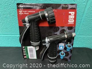 Orbit Pro Flo Nozzle Dual Pack (J140)