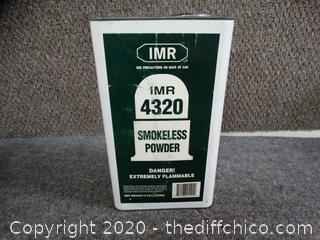 IMR 4320 Smokeless Powder 25% Full