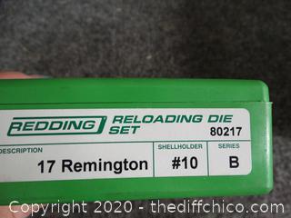 17 Remington Reloading Die Set