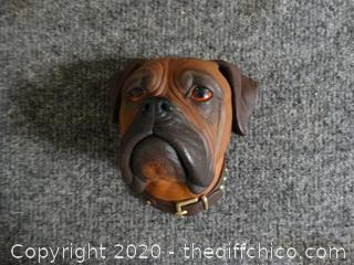 Bosson Dog Head 1968 Made In England