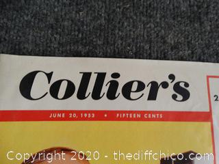 Colliers June 20th, 1953 Magazine