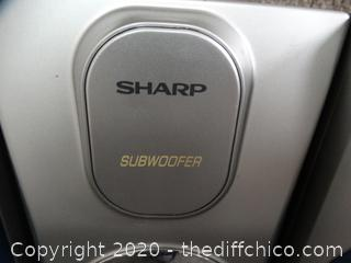 Sharp Subwoofer Speakers 3