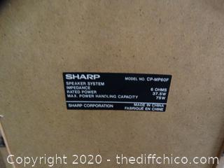 Sharp Subwoofer Speakers 3