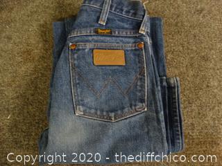 Wrangler Jeans 27x 36