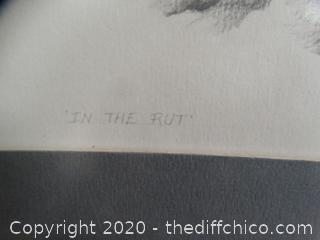 The Rut Craig Phillips 1978 signed
