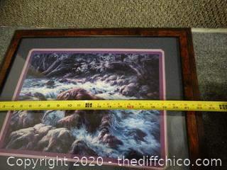 Signed Framed Art