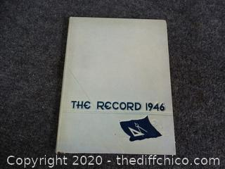 1946 The Record Year Book