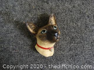 Bosson Cat  Head Made In England