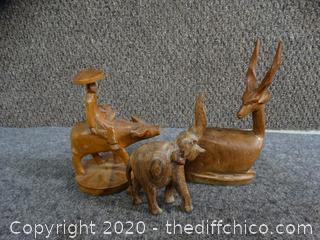 Wood Figurines