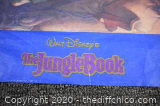 The Jungle Book Walt Disney's Lithograph