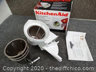 Kitchen Aid Slicer & Shredder