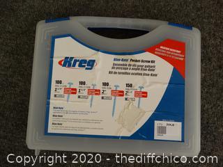 Kreg Blue Kote Pocket Screw Kit