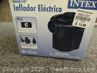 Intex Electric pump