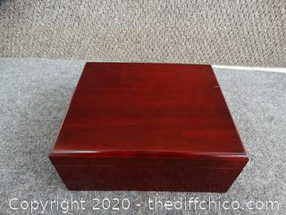 Humidor Box With Contents