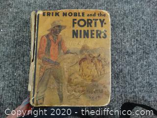 1934 Erik Noble & The Forty Niners Book
