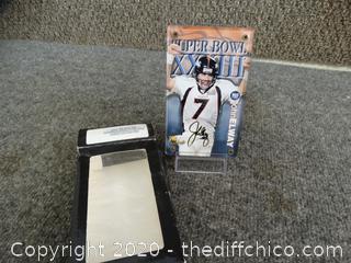 Denver Broncos John Elway Card